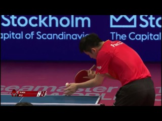 Xu Xin vs Fan Zhendong (Swedish Open 2017) MS FINAL