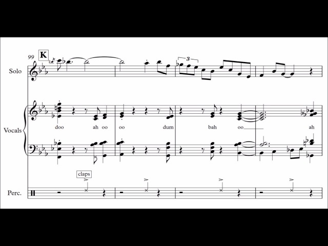 Jacob Collier Fascinating Rhythm Full Transcription