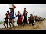 Рохинджа бегут в Бангладеш