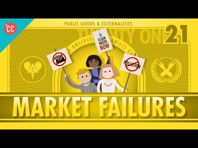 Market Failures, Taxes, and Subsidies: Crash Course Economics 21
