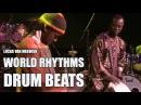Lucas van Merwijk • Djembé • Aly N'Diaye Rose • drum solo's • Senegal Sabar