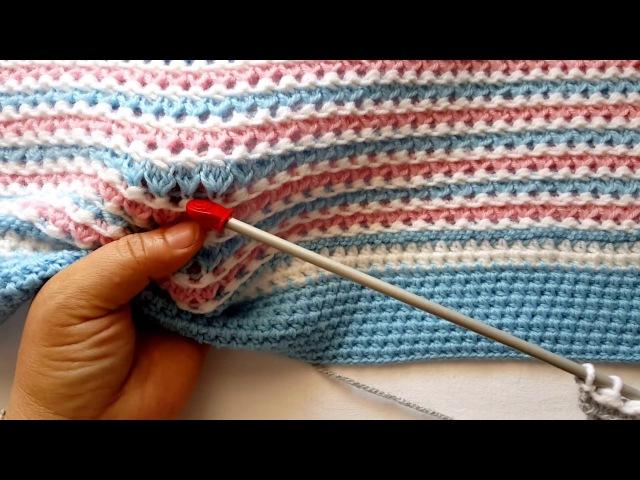 Hiçbir Yerde Göremeyeceğiniz Bebek Battaniyesi Modeli - Baby Blanket Model