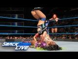 Becky Lynch &amp Naomi vs. Alexa Bliss &amp Mickie James SmackDown LIVE, Jan. 31, 2017