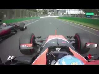 Fernando Alonso Onboard - FP Australia 2017 - Mclaren Honda