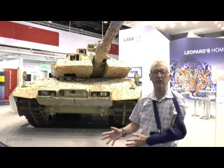 IDEX 2017: The most advanced Leopard ever produced - The 2A7