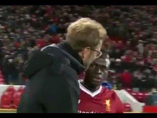 Jürgen Klopp and Sadio Mane Exchanged Words