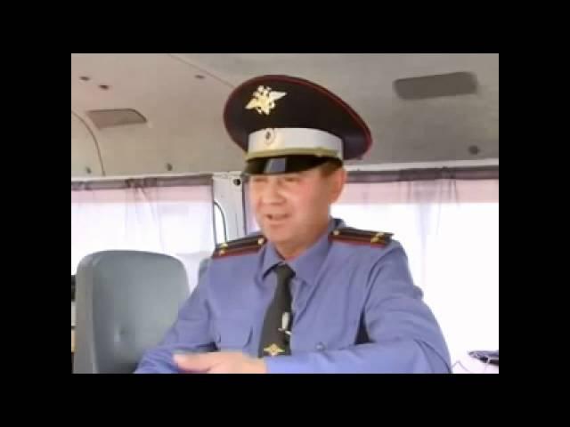 Инспектор ДПС ДПС - Я два раза не повторяю повторяю