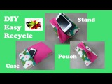 DIY iPhone Plus case ,stand,pouch,ribbon,cloth