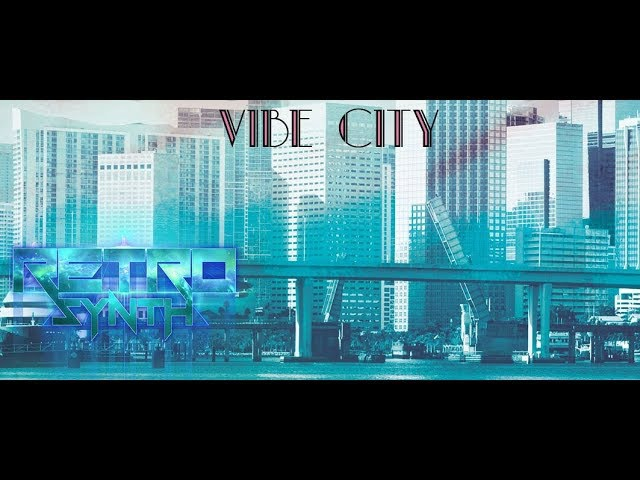 Midnight Mantics - Vibe City EP *Sampler* - RetroSynth Records 2017 - Synth-pop, Synthwave