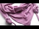Вязание бактуса на вязальной машине