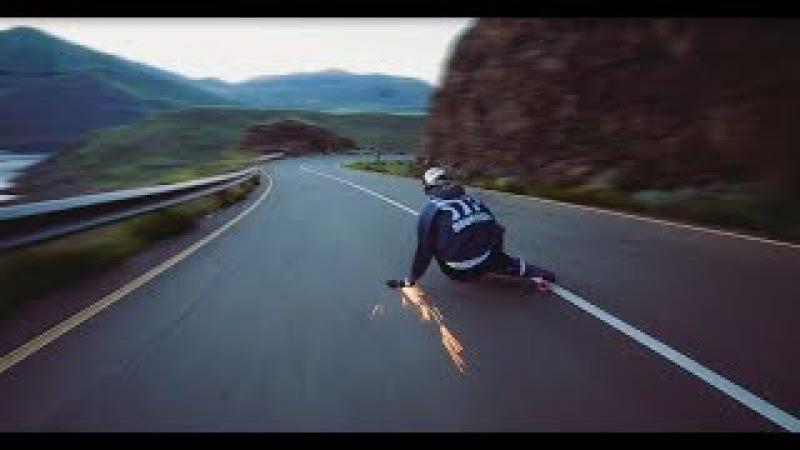 Epic downhill longboarding on higest speed  Gravity Dogz 