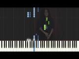 Vanessa Carlton - A Thousand Miles (Synthesia  Piano tutorial)
