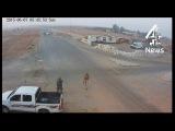 Игил бойцы атакуют блокпост в Ливии