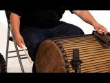 How to Play the Dundun Kuku Rhythm African Drums