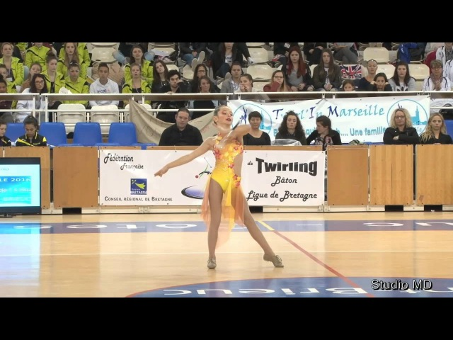 TWIRLING BATON FFTB 2016 - Finale N1 - Benjamine