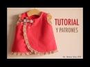DIY Costura: vestido de bebé (patrones gratis)