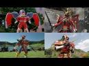 Power Rangers All Battlizer Armor Battles Power Rangers In Space to Ninja Steel Superheroes
