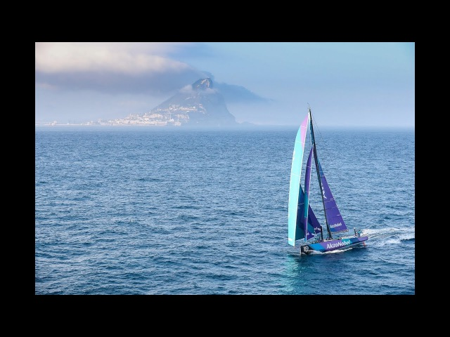 Gibraltar Strait from the air | Volvo Ocean Race