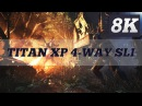 CRYSIS 3 8K PC GAMEPLAY GTX TITAN X PASCAL 4 WAY SLI 6950X ThirtyIR