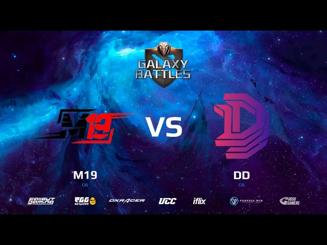 Galaxy Battles || M19 vs Double Dimension || map2 || bo3 || by @DD @Zais