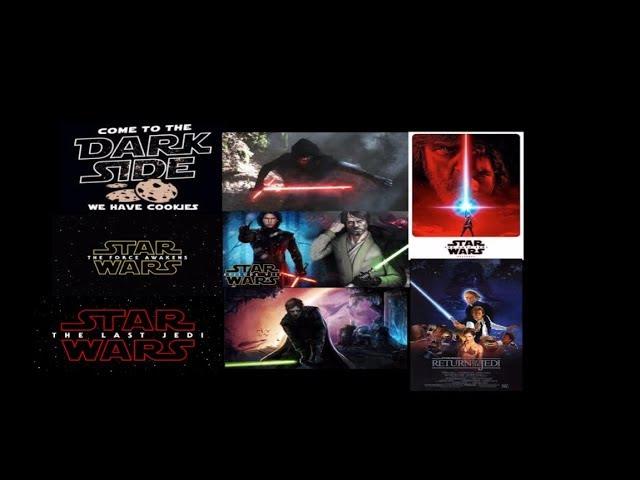 Han Solo Kylo Ren vs Luke Skywalker and Darth Vader - Star Wars Episode 8 The Last Jedi Explained