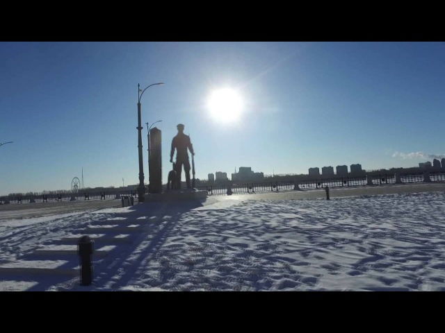 Привет из Благовещенска.- Greetings from Blagoveshchensk.