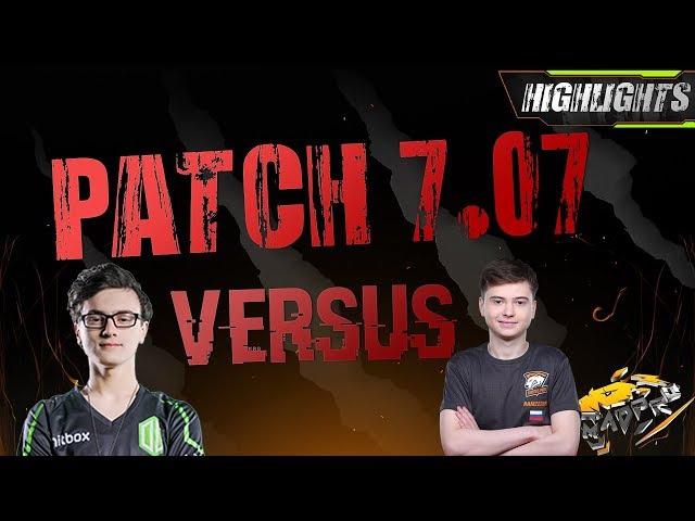 Miracle- 7.07 Patch NEW Templar Assassin vs. RAMZES MK Dota 2 (Full Game)