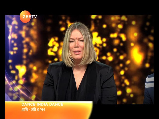 International Choreographer Mia Michaels on Dance India Dance   Sat-Sun at 9PM