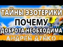 ✿ Почему выгодно быть добрым ✿ тайны эзотерики и правила жизни от Андрея Дуйко ...