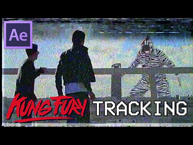Kung Fury Advanced VHS Tracking Effect NO PLUGGIN Tutorial [After Effects] - Free Stock Footage