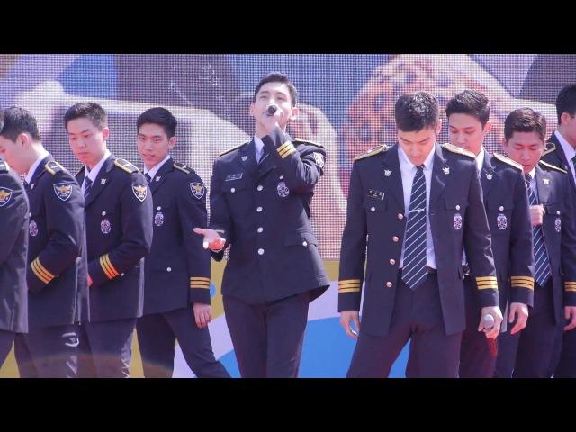 170527 동방신기 최강창민 슈퍼주니어 최시원 동해 서울경찰청홍보단공연 - 행