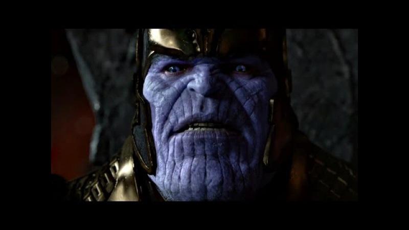 Ронан Обвинитель прибывает в Святилище Таноса