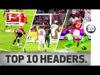 Top 10 Headed Goals of 2016/17 So Far... - Aubameyang, Chicharito and Co.
