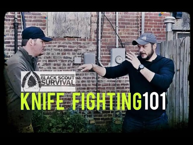 Knife Fighting 101- Black Scout Combatives