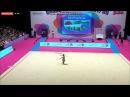 Арина Аверина лента финал - Гран-При Холон 2017