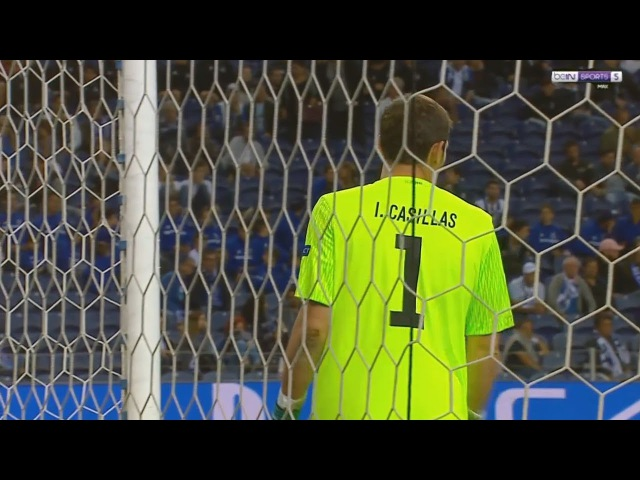 Iker Casillas vs Besiktas J.K - UCL (Home) 2017/18 HD 720p