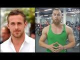 Необычная тренировка Райана Гослинга Ryan Gosling
