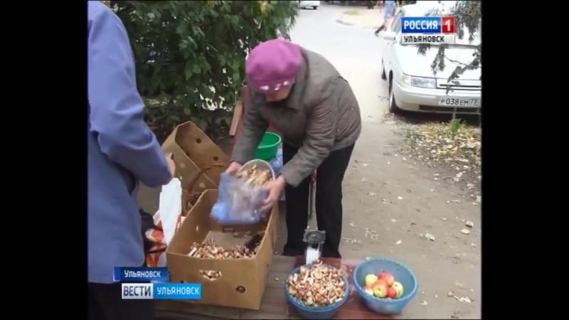 Вести Ульяновск Врач ЦГКБ об отравлении грибами.