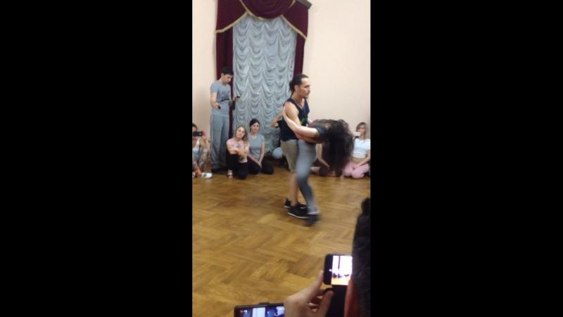 Ry'El (Henry Velandia) Jessica Lamdon - Brazuka Dance Festival 2017