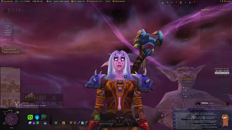Feral Druid Vengeance Realm 2007 The Burning Crusade