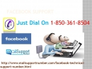 Quick Assistance via Facebook Support 1-850-361-8504