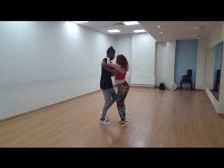 Fidel y Ulya Bachata sensual class 🔥