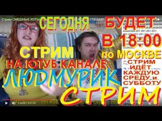 Стрим ШОУ Людмила ЛЮДМУРИК и Андрей ГОБЗАВР live stream LUDMURIK and GOBZAVR