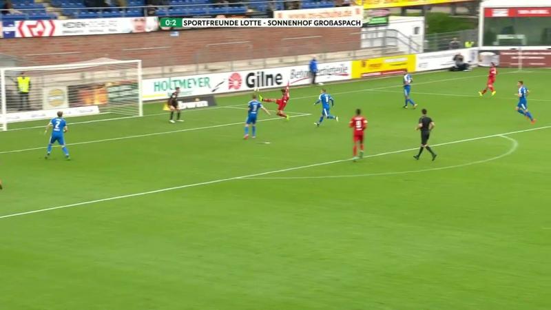 Highlights Sportfreunde Lotte vs. SG Sonnenhof Großaspach