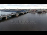 stock-footage-aerial-drone-video-of-vintage-architecture-of-st-petersburg-views-of-neva-river-finnish-bay-exch