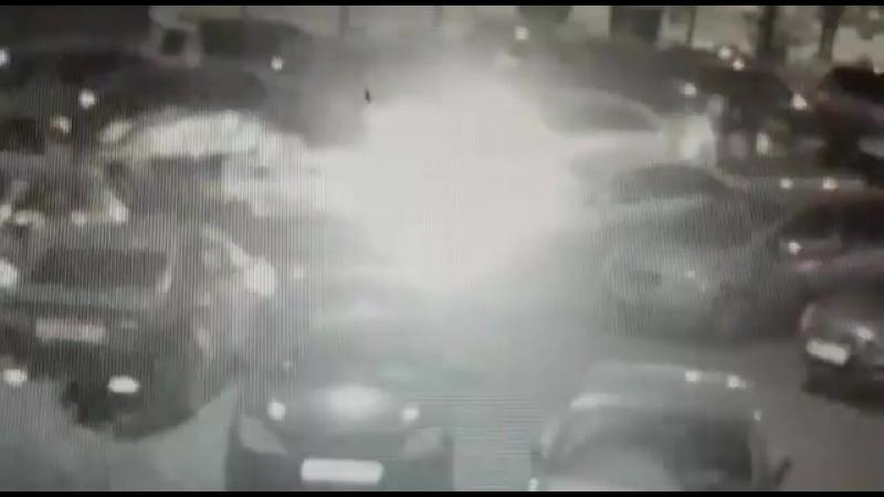 Поджигатель авто в Трёхгорке