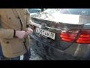 Иркутского студента задержали за матерную надпись под госномером