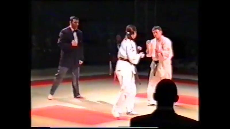 Maria Lepina vs Spaniard. Russian Championship 2000