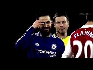 Cesc Fabregas Chelsea FC Goals, Asissts and Skills 14/17