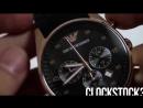 Наручные мужские часы Emporio Armani (качественная реплика). Видеообзор часов Эм